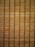 Bamboo curtain background Royalty Free Stock Photography