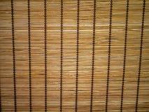 Bamboo curtain background Stock Photos