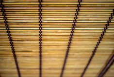 Bamboo curtain background Royalty Free Stock Image