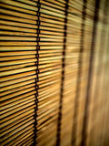 Bamboo curtain background Royalty Free Stock Photos
