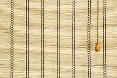 Bamboo curtain Stock Photo