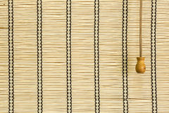 Bamboo curtain Royalty Free Stock Image