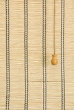 Bamboo curtain Royalty Free Stock Images