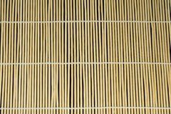 Bamboo curtain. Stock Photos