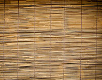 Bamboo curtain Stock Photography