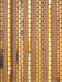 Bamboo curtain high resolution background Stock Images