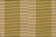 Bamboo curtain pattern Stock Photos