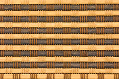 Bamboo curtain pattern Royalty Free Stock Images