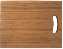 Bamboo cutting board Royalty Free Stock Photo
