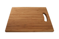 Bamboo cutting board Stock Image