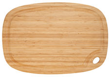 Bamboo cutting board Stock Images