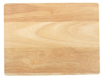 Bamboo cutting board Stock Photo