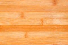 Bamboo cutting board close up Stock Photo