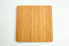 Bamboo cutting board Stock Photo
