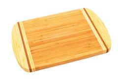 Bamboo cutting board Royalty Free Stock Photos