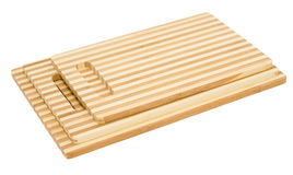 Bamboo cutting boards Royalty Free Stock Image