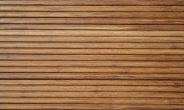 Bamboo decking Stock Images