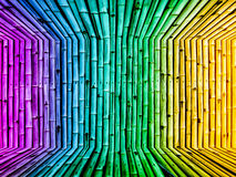 Bamboo dimension vintage gradient background wallpaper Royalty Free Stock Image