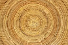 Bamboo dish Royalty Free Stock Images