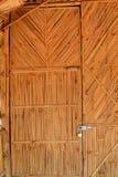 Bamboo doors Stock Image