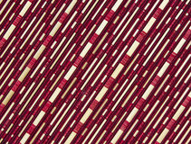 Bamboo and fabric pattern Stock Photos