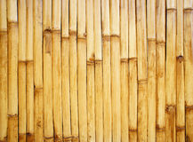 Bamboo fence. In vertical pattern Royalty Free Stock Photos