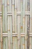Bamboo fence. Old bamboo fence in Thailand Royalty Free Stock Images