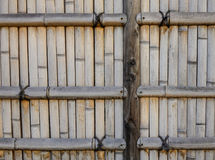Bamboo fence at an ancient temple in Kyoto, Japan Stock Photos