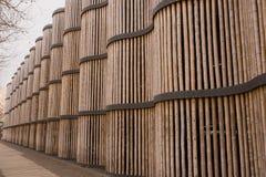 Bamboo fence background Royalty Free Stock Photo