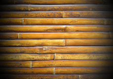 Bamboo fence background, abstract wooden for texture.  royalty free stock photo