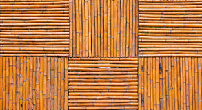 Bamboo fence background Royalty Free Stock Images