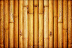 Bamboo fence background Royalty Free Stock Photo