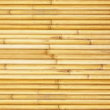 Bamboo fence background Stock Photography