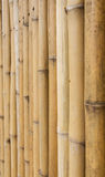 Bamboo fence background texture pattern Stock Photography