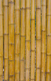 Bamboo fence background texture pattern Stock Photos