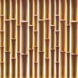 Bamboo fence background Royalty Free Stock Photos