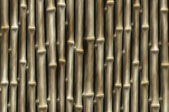 Bamboo fence backgrounds. abstract pattern Stock Photo