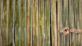 Bamboo fence Royalty Free Stock Photos