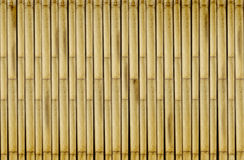 Bamboo fence Nature background Royalty Free Stock Photography