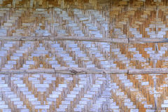 Bamboo fence texture Royalty Free Stock Images