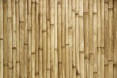 Bamboo Fence Texture Background Royalty Free Stock Image