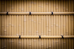 Bamboo fence texture Stock Photos