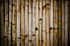 Bamboo fence , at Thai Royalty Free Stock Photography