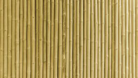 Bamboo fence or wall texture background for interior Royalty Free Stock Photos