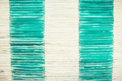 Bamboo fence or wall texture background for interior or exterior. Design Stock Photography