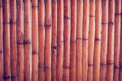 Bamboo fence or wall texture background for interior or exterior. Design Stock Photos