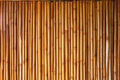 Bamboo fence or wall texture background for interior or exterior Royalty Free Stock Photo