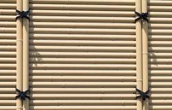 ฺBamboo fence wooden texture pattern background. Vintage bamboo fence wooden texture pattern background Stock Photo