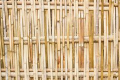 Bamboo fences Stock Photography