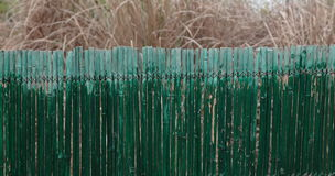 Bamboo fencing Stock Photos